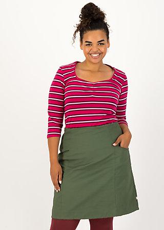 breton heart tee, morning glory stripes, Shirts, Rot
