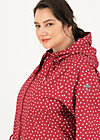 Raincoat Eco regenmantel friese, dot and love, Jackets & Coats, Red