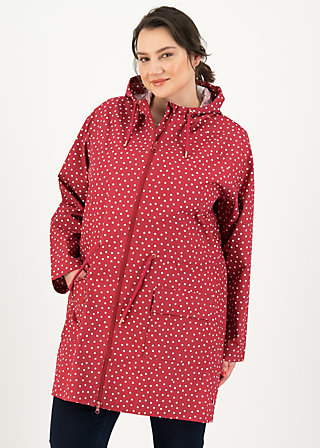 Regenjacke Eco regenmantel friese, dot and love, Jacken & Mäntel, Rot