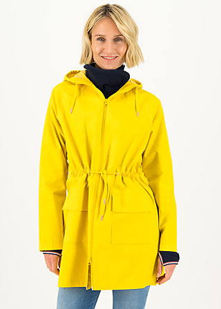 Raincoat Eco regenmantel friese, yellow frisian, Jackets & Coats, Yellow