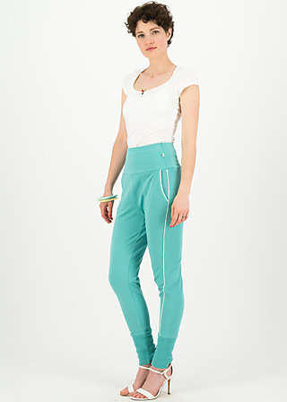 fast forward sweatpants, aqua blue, Hosen, Türkis