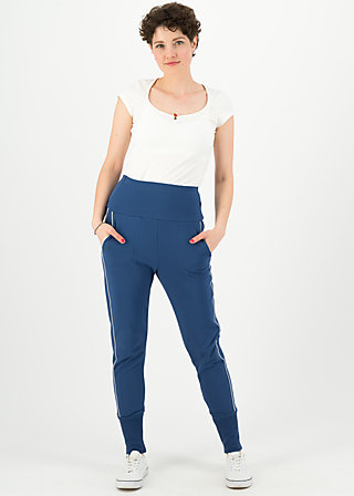 fast forward sweatpants, maritim blue, Trousers, Blue