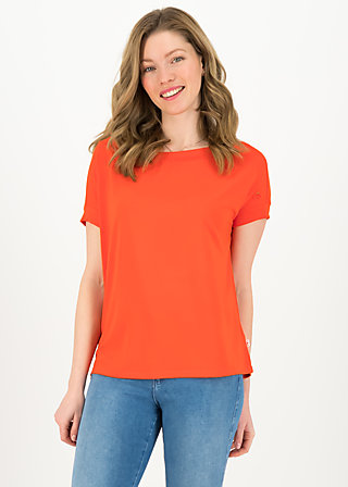 Basic Top flowgirl, orange summer, Shirts, Orange