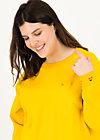Sweatshirt fresh 'n' fruity, corn yellow, Pullover & Sweatshirts, Gelb