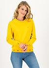 Sweatshirt fresh 'n' fruity, corn yellow, Jumpers & Sweaters, Yellow