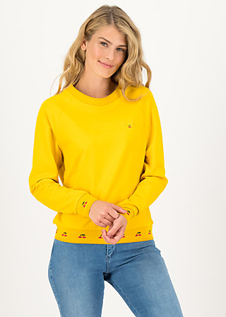 Sweatshirt fresh 'n' fruity, corn yellow, Pullover & Sweatshirts, Gelb