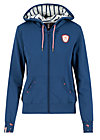 good morning bakerstreet zip, maritim blue, Jumpers & lightweight Jackets, Blue
