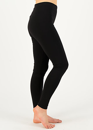 Sweat-Leggings totally thermo, anthracite shadow, Leggings, Schwarz