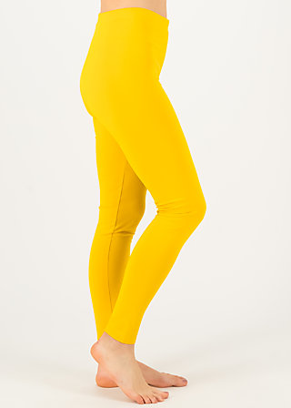 Sweat Leggings totally thermo, corn yellow, Leggings, Yellow