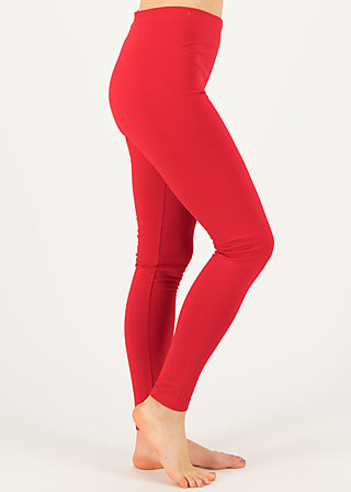 Sweat-Leggings totally thermo, go red go, Leggings, Rot