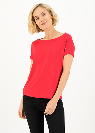 logo flowgirl tee, beloved red, Shirts, Red