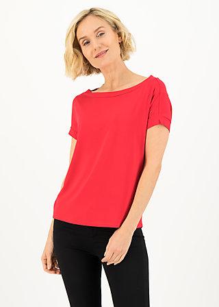 logo flowgirl tee, beloved red, Shirts, Red