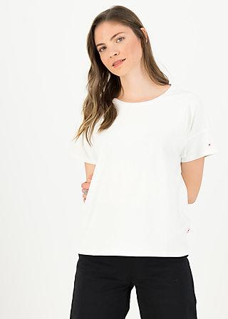 logo flowgirl tee, clean white, Shirts, Weiß