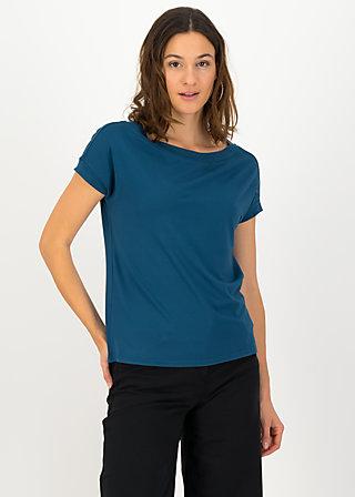 logo flowgirl tee, harbor blue, Shirts, Turquoise