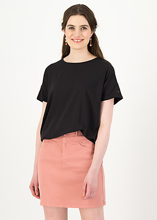 logo high waist skirt, old rose, Röcke, Rosa