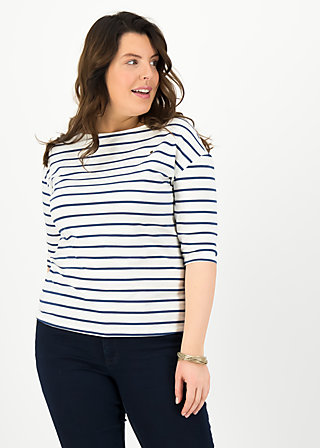 logo stripe halfsleeve, stripe of paris, Shirts, White