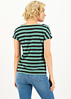 logo stripe t-shirt, black graphite stripes, Shirts, Schwarz
