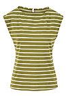 logo stripe top, stripe of nature, Shirts, Green