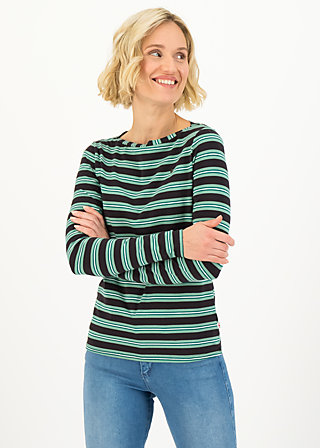 logo striped longsleeve shirt, black graphite stripes, Shirts, Black