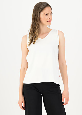 logo top graceful flow, clean white, Shirts, White