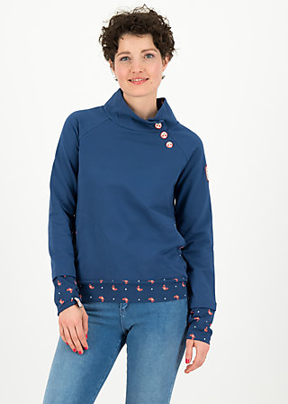 oh so nett sweat, maritim blue, Pullover & leichte Jacken, Blau