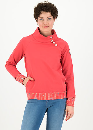 oh so nett sweat, tender red, Pullover & leichte Jacken, Rot