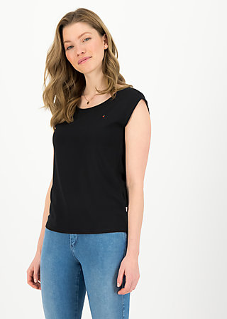 Basic Top sailorlove, black summer, Shirts, Schwarz