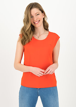 Basic Top sailorlove, orange summer, Shirts, Orange