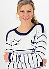 seaside cottage sweater, sailors faith, Pullover & leichte Jacken, Weiß