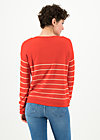 Strickpullover seaside cottage, sailors love, Cardigans & leichte Jacken, Orange