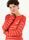 seaside cottage sweater, sailors love, Pullover & leichte Jacken, Orange
