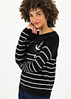 seaside cottage sweater, sailors passion, Jumpers & lightweight Jackets, Black