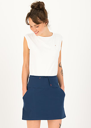 Minirock sporty shorty, blue denim, Röcke, Blau