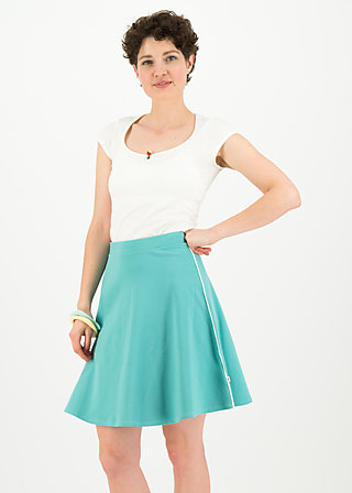 sporty sister skirt, aqua blue, Skirts, Turquoise