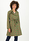 Soft Shell Trench Coat spy of love, forrest feeling, Jackets & Coats, Green