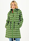 Soft Shell Coat swallowtail lightweight, free as birds, Jackets & Coats, Green