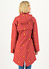 Soft Shell Coat swallowtail lightweight, wellington boots, Jackets & Coats, Red