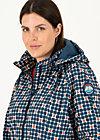 Soft Shell Coat swallowtail promenade, apple turnover, Jackets & Coats, Blue