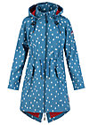 swallowtail promenade coat, baltic sea drops, Jacken & Mäntel, Blau