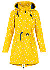 swallowtail promenade coat, north sea drops, Jacken & Mäntel, Gelb