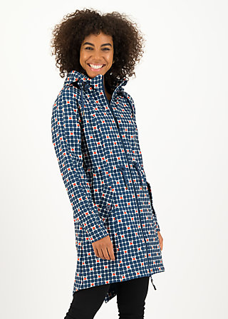 swallowtail promenade coat, apple turnover, Jackets & Coats, Blue
