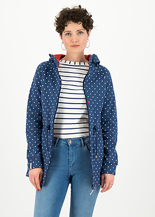 the beauty of the east coat, love the anchor dot, Jacken & Mäntel, Blau