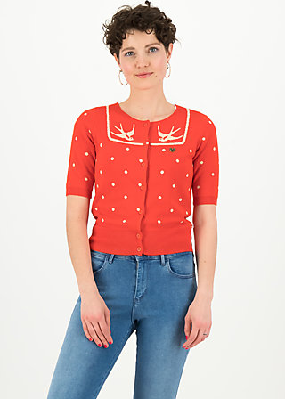 tipsy me cardy, sailors heartdot, Jumpers & lightweight Jackets, Orange