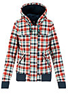 wetterheldin duffleblouson, april check, Jackets & Coats, Red