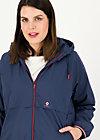 Windbreaker Wetterjacke windbraut short, deep blue, Jackets & Coats, Blue