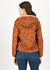 Windbreaker Wetterjacke windbraut short, shades of rust, Jackets & Coats, Brown