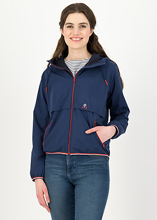 Windjacke Wetterjacke windbraut short, deep blue, Jacken & Mäntel, Blau