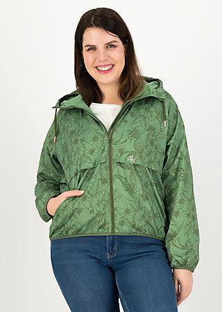 Windbreaker Wetterjacke windbraut short, shades of oliv, Jackets & Coats, Green