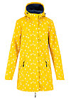 wild weather long anorak, north sea drops, Jackets & Coats, Yellow