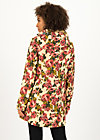 Soft Shell Parka wild weather long anorak, rose tapestry, Jackets & Coats, Fawn